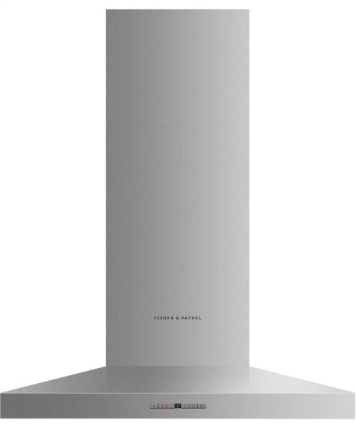 "Wall Chimney Vent Hood, 30"", Pyramid"