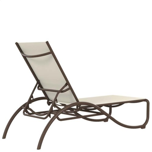 La Scala Relaxed Sling Chaise Lounge
