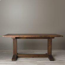 """72"""" Antique Copper Copper Farmhouse Table"""