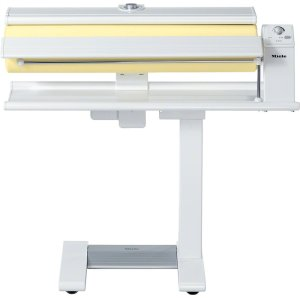 MieleB 990 Rotary ironer with high pressure and a wide heater plate for best results.