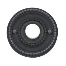 Distressed Oil-Rubbed Bronze Beaded Bell Button
