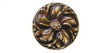 Chrysanthemum - Antique Brass