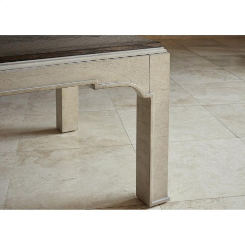 Parquet Cocktail Table
