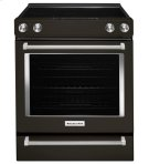 30-Inch 5-Element Electric Slide-In Convection Range - Black Stainless Product Image