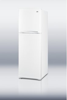 Large capacity counter-depth refrigerator-freezer with frost-free operation