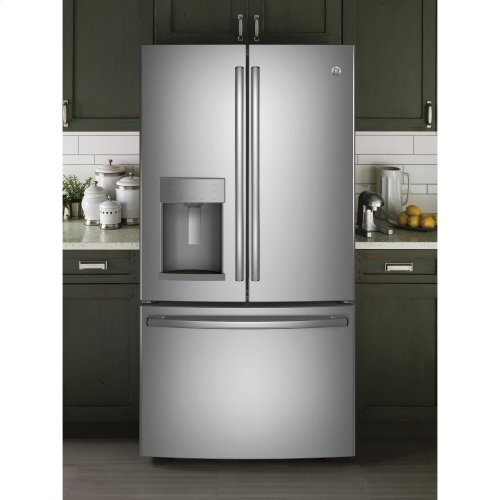 GE® 22.2 Cu. Ft. Counter-Depth French-Door Refrigerator