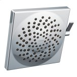 "Velocity Chrome Two-Function 8-1/2"" Diameter Spray Head Rainshower"