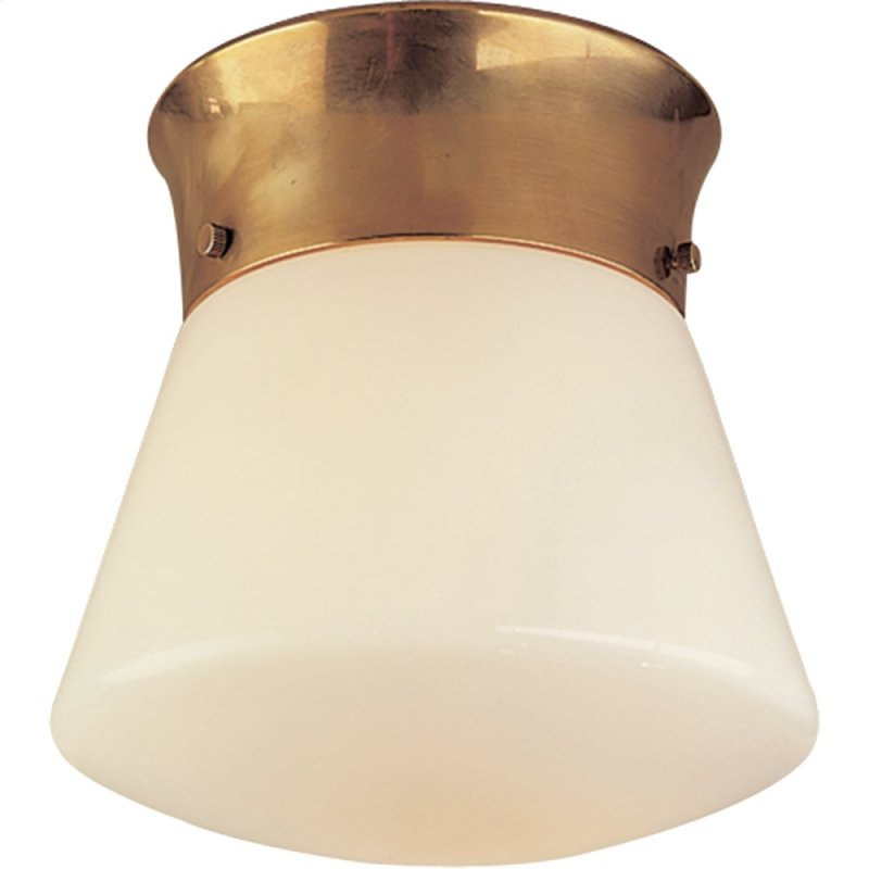 Visual Comfort Tob4000hab Thomas Obrien Perry 1 Light 10 Inch Hand Rubbed Antique Br Flush Hidden