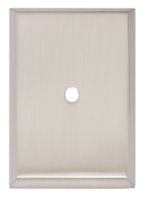 Traditional Backplate A610-38 - Satin Nickel