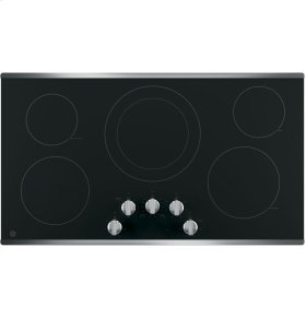 "GE® 36"" Built-In Knob Control Electric Cooktop"