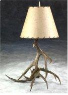Mule Deer Lamp Product Image