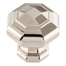 Elizabeth Knob 1 1/4 inch - Polished Nickel