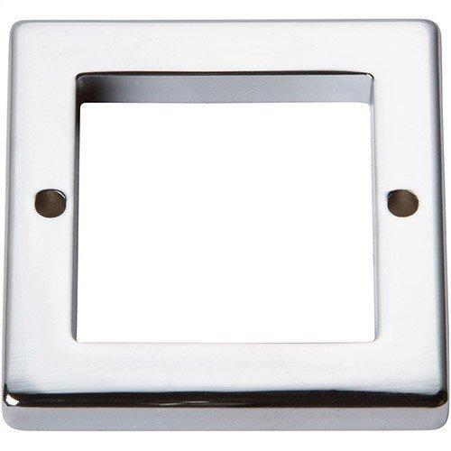 Tableau Square Base 1 13/16 Inch - Polished Chrome