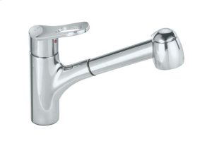 Blanco Aires Ii With Pullout Spray - Polished Chrome