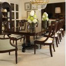 Double Pedestal Dining Table Product Image