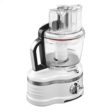Pro Line® Series 16-Cup Food Processor with Die Cast Metal Base and Commercial-Style Dicing Kit - Frosted Pearl White