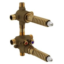 """1/2"""" Shared Thermostatic Shower With Diverter"""