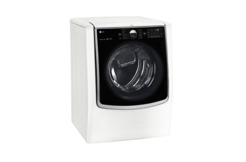 7.4 cu.ft. Ultra Large Capacity TurboSteam Electric Dryer w/ On-Door Control Panel