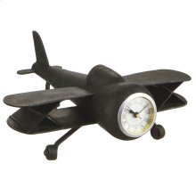 Vintage Airplane Desk Clock.