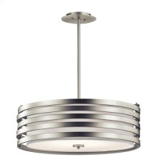 Roswell Collection Roswell 4 Light Pendant - Brushed Nickel