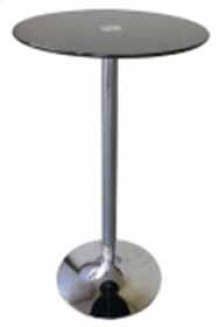 Bar Table(black Glass)