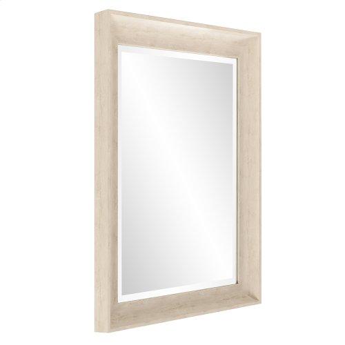 Parker Cream Rectangle Mirror
