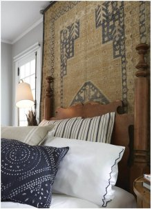 Bodrum Gold Navy Hand Knotted Rugs