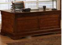 Phillipe 28x66 Desk with 2 File Dwrs & Pencil Dwr/Keyboard Tray Product Image