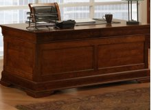 Phillipe 28x66 Desk with 2 File Dwrs & Pencil Dwr/Keyboard Tray