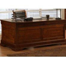Phillipe 28x66 Desk with 2 File Dwrs & Pencil Dwr/Keyboard Tray