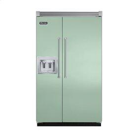 "Sage 48"" Quiet Cool™ Side-by-Side with dispenser - VISB Tru-Flush™ (48"" wide)"