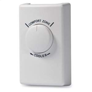 BroanWall Thermostat for Fans - White