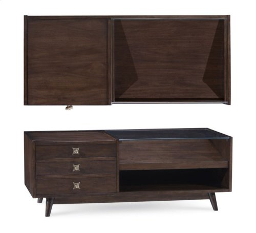 HOT BUY CLEARANCE!!! Epicenters Silver Lake Cocktail Table