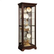 Warm Cherry Mirrored Back Curio Product Image