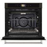 """KitchenAid Smart Oven+ 30"""" Single Oven with Powered Attachments and PrintShield™ Finish - Black Stainless Steel with PrintShield™ Finish"""