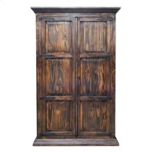 Med Armoire W/ Hideaway Bed
