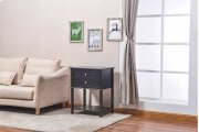 6627 Black Side Table Product Image