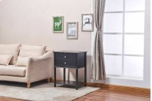 6627 Black Side Table