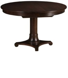 "Meyer 42"" Round Pedestal Table w/ 18"" Leaf"