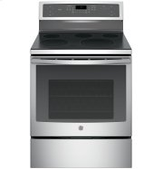 "GE Profile™ Series 30"" Free-Standing Electric Convection Range Product Image"