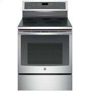 """GE Profile™ 30"""" Free-Standing Electric Convection Range Product Image"""