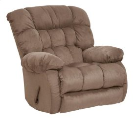 Chaise Swivel Glider Recliner - Saddle