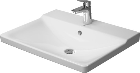 P3 Comforts Furniture Washbasin 3 Faucet Holes Punched