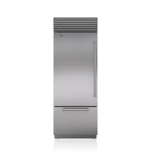 "Subzero30"" Classic Over-and-Under Refrigerator/Freezer"