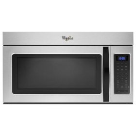 Whirlpool® 1.7 cu. ft. Over the Range Microwave with Hidden Vent - Silver
