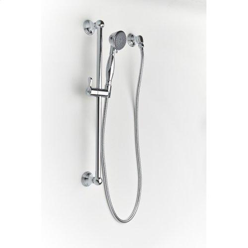 Slide Bar With Hand Shower Berea Series 11 Polished Chrome