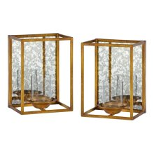 Avery Candle Holders- S/2