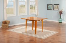 Montreal Dining Table 39x39 in Caramel Latte