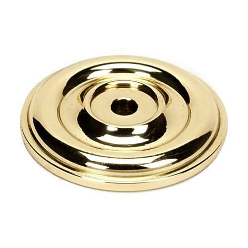 Bella Rosette A1460 - Polished Brass