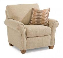 Christine Fabric Chair with Nailhead Trim